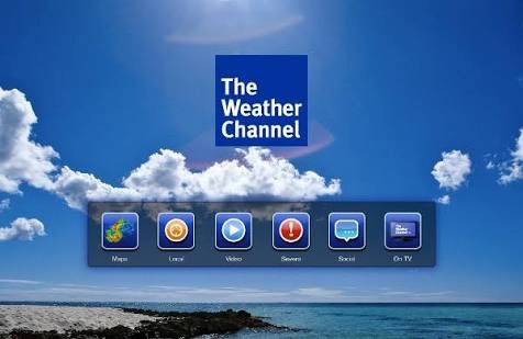 リアルタイムの天気を配信!The Walker Channel